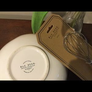 Rae Dunn Kitchen - New Rae Dunn BAKE Mixing Bowl & WHISK Set